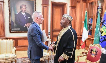 Gabon: trois nouveaux ambassaseurs accrédités