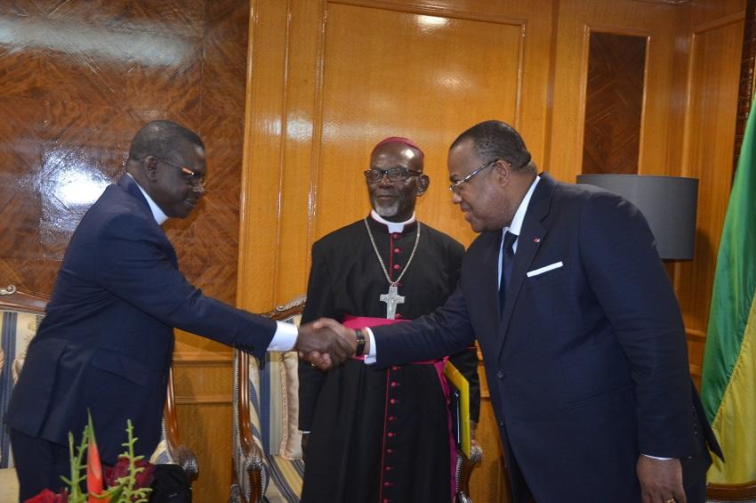 Gabon: le Premier ministre échange avec des confessions religieuses sur le dialogue national