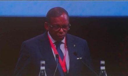 2èmeconférence internationale sur la Justice de Marrakech: Edgard Anicet Mboumbou Miyakou prône une justice au service des affaires