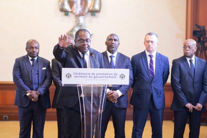 Gabon: 4 nouveaux ministres prêtent serment devant Ali Bongo