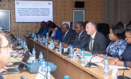 Le Gabon et la France ont présidé la 9ème session du Comité d'orientation stratégique (COS) de l'Accord de conversion de dettes (ACD)