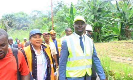 Gabon:réhabilitation de la routeBambouchine, les travaux ont démarrés
