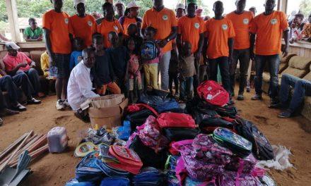 Gabon :l'association DIB au chevet des populationsde MulenguiBinza