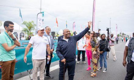Marathon du Gabon : Ali Bongo Ondimba donne le top de  « la gabonaise »