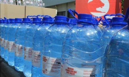 Covid-19 : la Sobraga produit et offre une solution hydroalcoolique pour le Gabon !