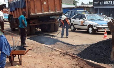 Port Gentil : la mairie poursuit la réhabilitation des voies de communication