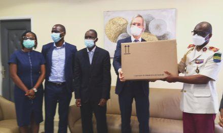 Gabon: Huawei et l'ambassade d'Allemagne font des dons au Copil et au Cermel