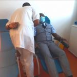 VACCINATION CONTRE LA COVID-19 :  LE Pr MOUGUIAMA-DAOUDA ENVOIE UN SIGNAL FORT A LA COMMUNAUTÉ ÉDUCATIVE ET UNIVERSITAIRE