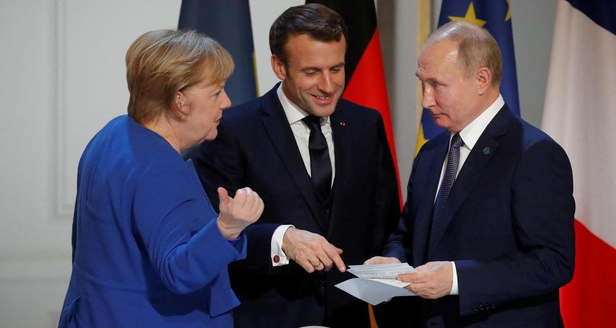 Vaccins, Iran, Syrie… Poutine, Merkel et Macron se sont entretenus en visioconférence
