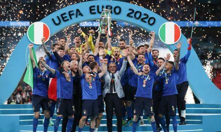 l'Italie championne d'Europe après 35 ans de disette