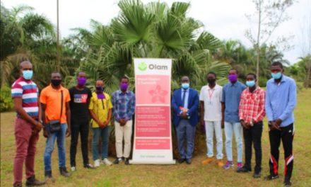 OLAM Palm Gabon cultive le potentiel des futurs agriculteurs